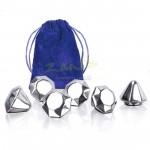 鑽石型不銹鋼冰粒