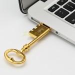 超薄鎖匙金屬USB手指