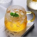 雪點錘紋泡茶杯