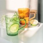 彩色玻璃馬克杯